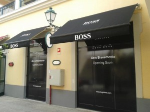 Loja Hugo Boss no Campera