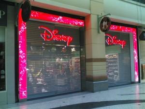 Loja Disney no Centro Comercial Colombo