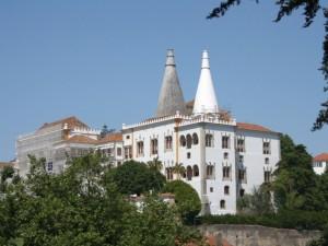 Pintura do Palácio Nacional de Sintra