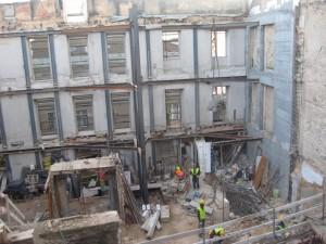 Reabilitação de edifício na Rua da Saudade