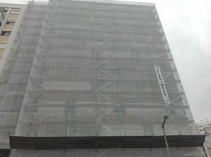 Reabilitação de edifício na Avª EUA