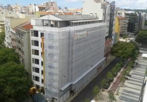 Reabilitação de edificio na Avª Duque de Ávila em Lisboa