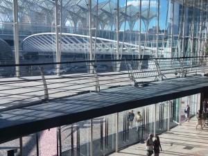 Ampliação da ponte no Centro Comercial Vasco da Gama