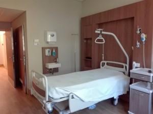 Renovação do bloco de internamento Individual Norte  no Hospital dos Lusiadas